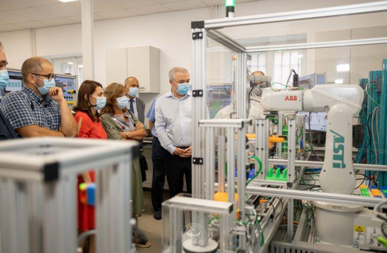 Inaugurarea Laboratorului Industrie 4.0 (sala A008)