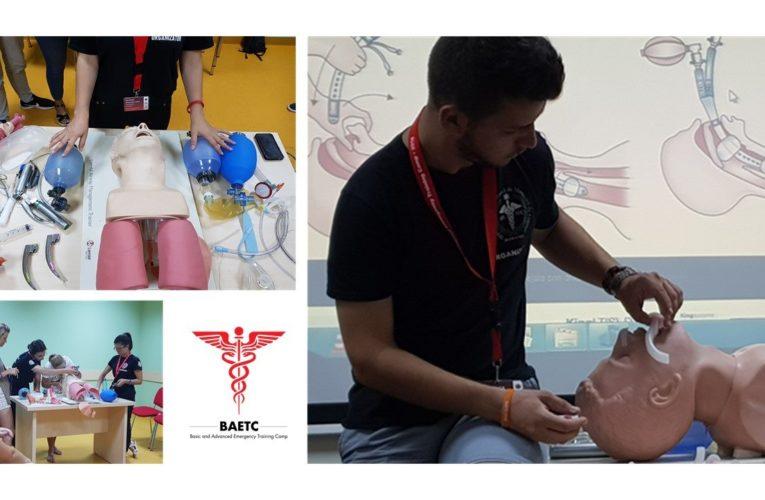 Tabără de vară dedicată studenților pasionați de medicina de urgență