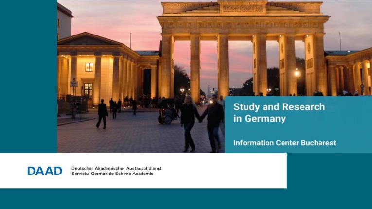 Burse DAAD pentru studenți, absolvenți, doctoranzi și cadre didactice, an universitar 2022/ 2023